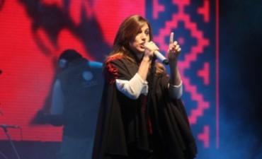 Soledad Pastorutti, en la novena noche de Jesús María