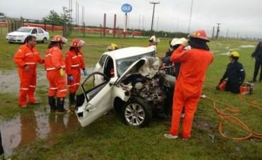 Dos hombres murieron en un accidente en Bell Ville