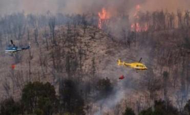 Un incendio ya devoró 100 hectáreas en Los Alerces