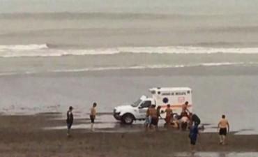 Seis heridos por la caída de un rayo en Monte Hermoso