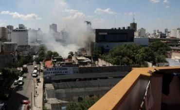 Controlaron el incendio que afectó los estudios de Canal 13 y TN