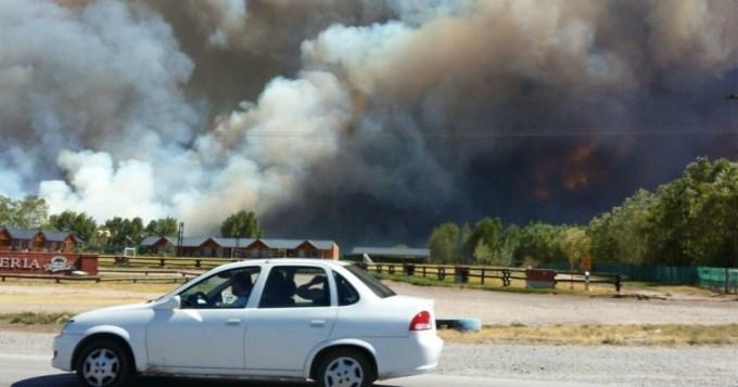 El fuego arrasó con 600 mil hectáreas en centro y sur del país
