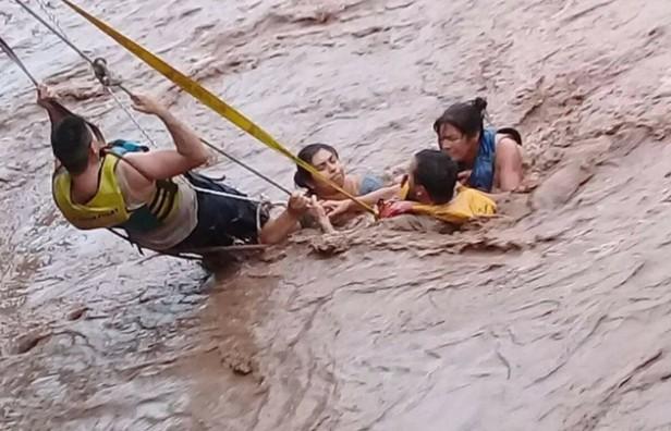 Complicaciones en el norte argentino por las inundaciones