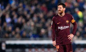 Messi erró un penal y el