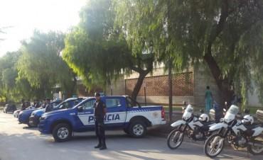 Operativo de Saturación policial