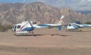 Estado corrupto. Polémica por el uso del helicóptero riojano