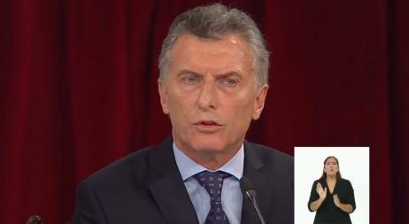 Mauricio Macri abrió las sesiones legislativas en el Congreso