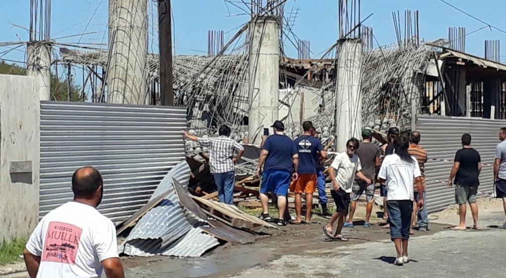 Las víctimas fatales del derrumbe aumentaron a 6