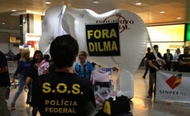 Brasil: la Policía Federal amenaza con una huelga en el Mundial