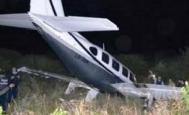 Avioneta cayó en Dean Funes: siete heridos leves
