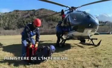 Encuentran la segunda caja negra del avión de Germanwings Tragedia aérea en los Alpes franceses