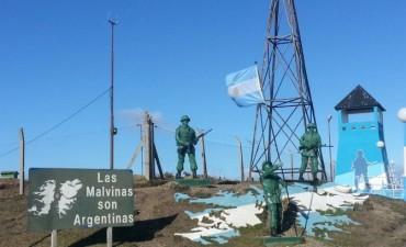 Río Grande. Homenaje  a héroes de Malvinas