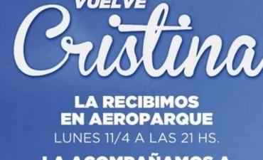Tras su imputación. Los ultraK llaman a marchar a Aeroparque para recibir a Cristina