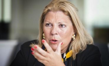 """Carrió, sobre el discurso de Cristina: """"Terminó el ridículo show de la actriz nacional"""""""