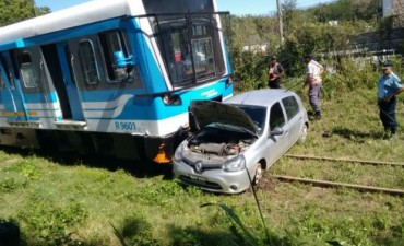 Bialet Massé: se salvó luego de que el tren arrollara su auto
