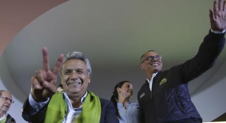 Un ajustado triunfo de Moreno en Ecuador