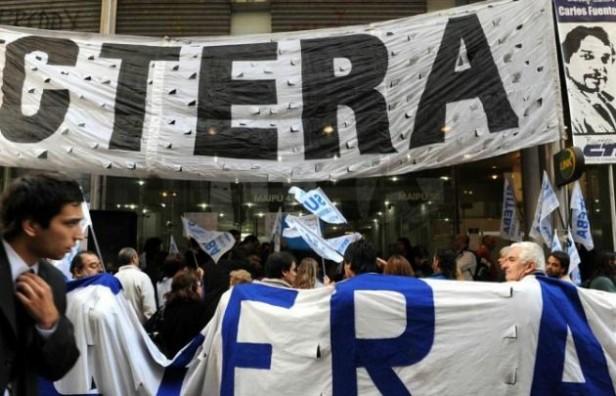CTERA anunció para mañana un paro nacional de 24 horas
