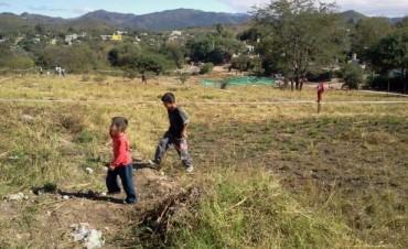 Usurpan terrenos en Ayohuma y Viamonte