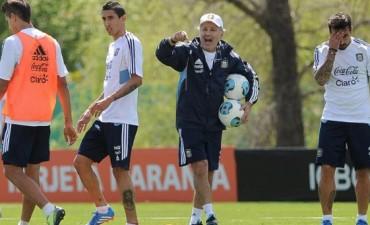 Comienza el sueño: Sabella inicia las prácticas de la Selección