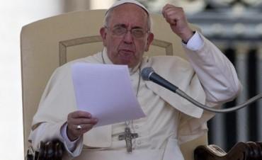 El Papa Francisco se enojó y se hizo sentir