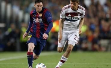 Champions: Barcelona demolió al Bayern Munich con un Messi monumental