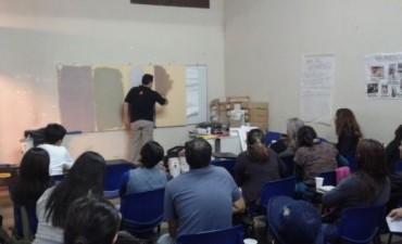Se realizó el curso sobre técnicas de aplicación de revestimientos