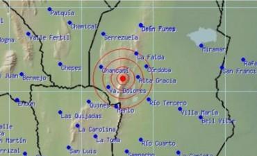 Sismo en el interior de Córdoba