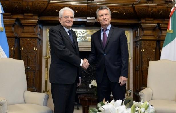 Macri y Mattarella hablaron de un acuerdo Mercosur-UE