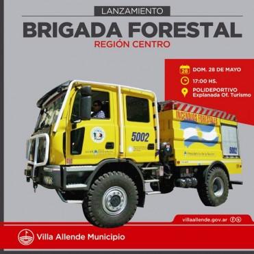 Presentan La Brigada Forestal Región Centro