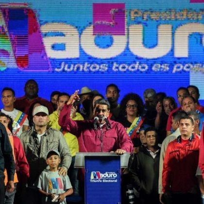 Según Maduro gana las controvertidas elecciones con un