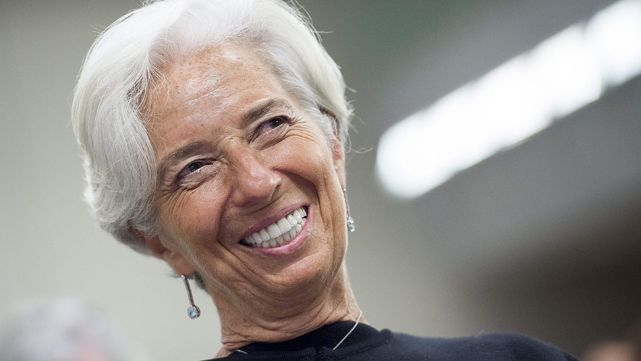 Lagarde presentó informe argentino al FMI