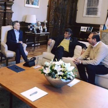 El presidente recibió a intendentes de la región