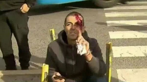 El fiscal del caso Odebrecht fue atropellado por una camioneta que cruzó un semáforo en rojo