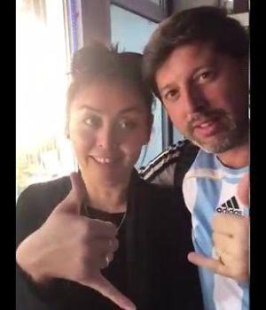 Argentino echado de Rusia por acosar a joven se indignó en las redes