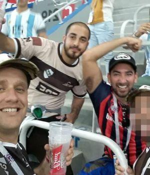 Deportarán a los argentinos que agredieron a hincha croata
