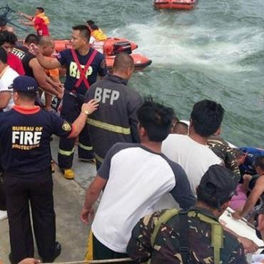 Ferry se hunde frente a costas de Filipinas: 36 muertos