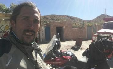 Escapó en moto de Potosí y logró llegar a su ciudad natal