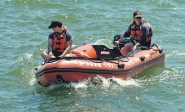 Buscan en el Río de la Plata a un joven que habría caído de un barco cerca de Colonia