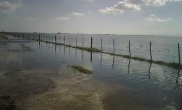 Continuan las inundaciones en el centro y sureste de la provincia