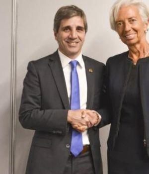 Lagardese reunió con Caputo: