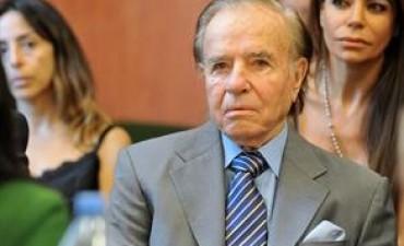 Carlos Menem advirtió que si declara en el juicio por AMIA afectará intereses del Estado