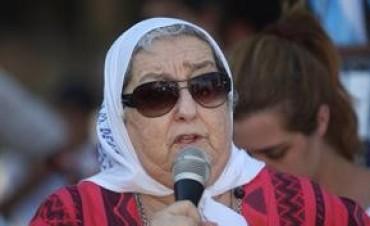 Citan a indagatoria a Hebe de Bonafini por el desvío de $ 46 millones en aportes jubilatorios