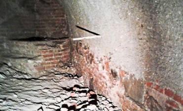 Descubren en Villa Paez túnel de la época colonial