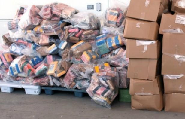 Incautan mil kilos de cocaína que iban desde Argentina a Canadá