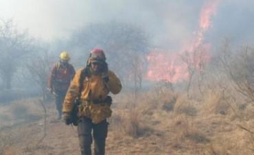 Controlan incendio en la comuna San Roque