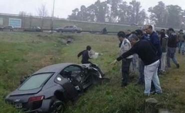 Confirman que el auto de Paladini tenía un impacto externo