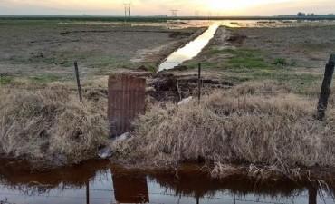 Policía Ambiental frenó posible inundación en Ballesteros Sud