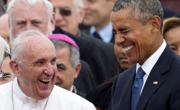 El presidente Barack Obama recibió al papa Francisco en EEUU