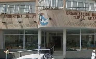 Allanan la sede de la Tupac Amaru en Jujuy
