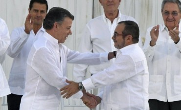 Colombia selló el histórico acuerdo de paz con las Farc